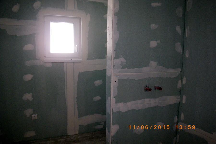 Interiér kúpeľňa s WC