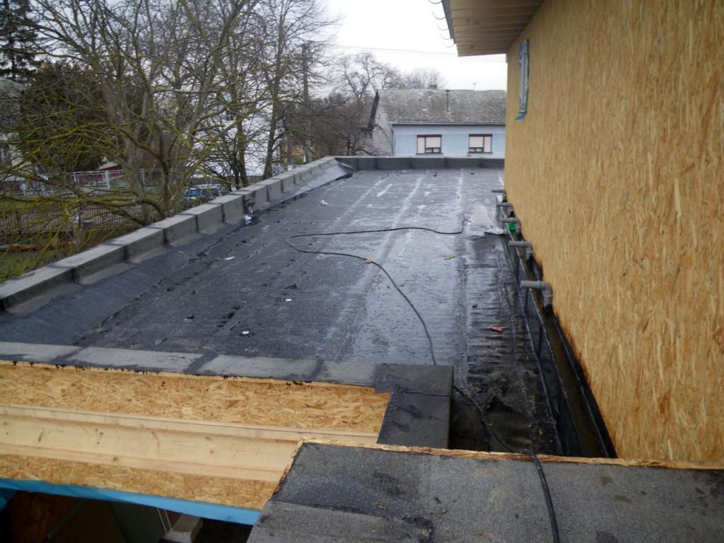 hydrogenizácia plochej strechy