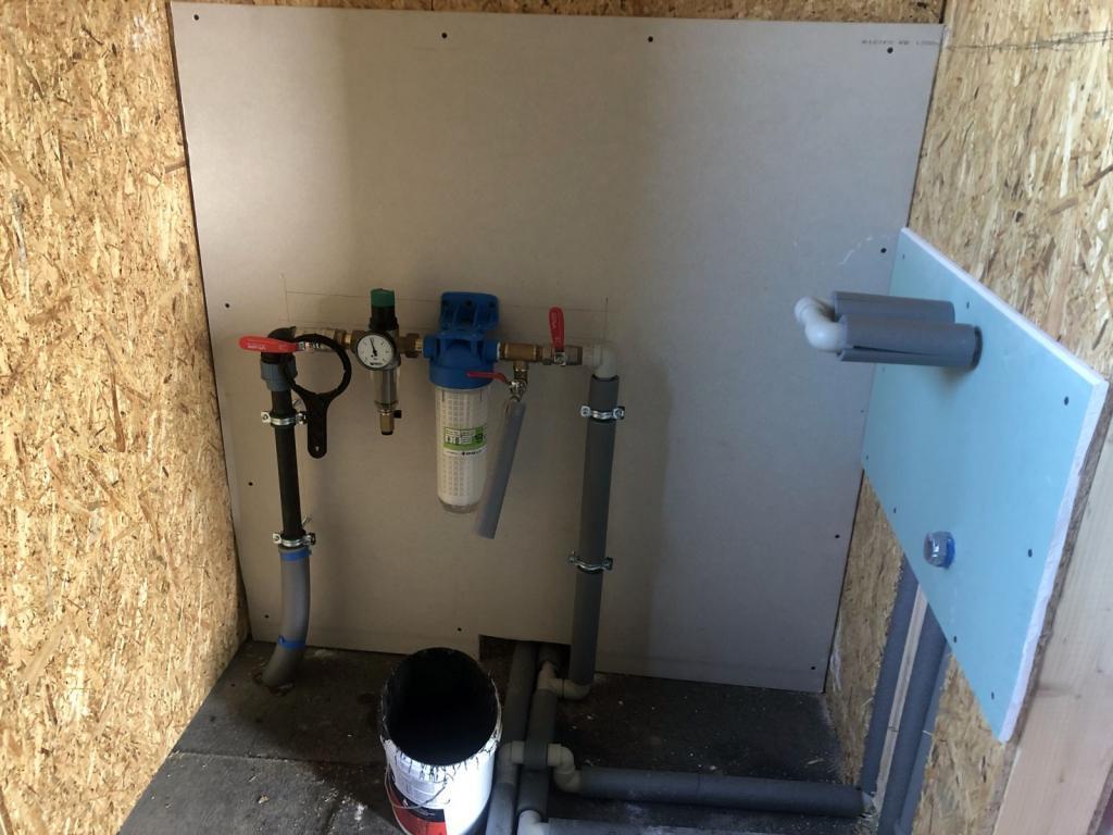 rozvod vody a kanalizácie
