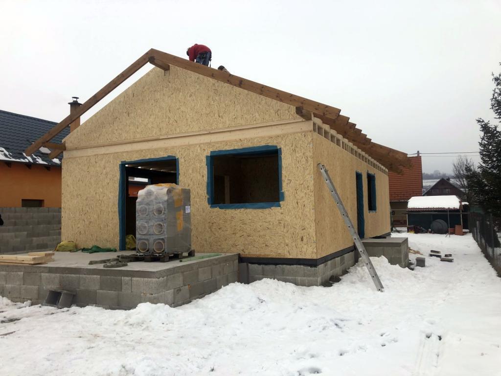 montáž hrubej stavby
